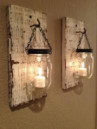 interesting rustic wall sconces 25 best ideas about candle wall sconces on farmhouse