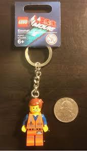 Genuine The Lego Movie 2 Emmet Minifigure Keyring