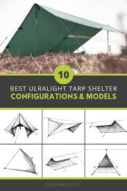 Tarp Teepee Design How To Make The Best Backpacking Tarp Tent Shelters From