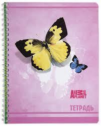 <b>Action</b>! <b>Тетрадь</b> Animal Planet <b>80</b> листов в клетку, цвет: розовый ...