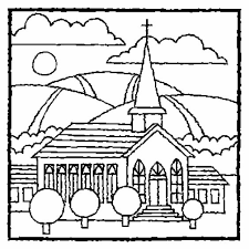 Small Picture Printable Coloring Pages For Church Printable Free Printable