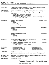 With a traditional resume template format, you can leave the layout and design to microsoft and focus on putting your best foot forward. 25 Best Free Resume Template Examples Nonprofit Jobs 2021