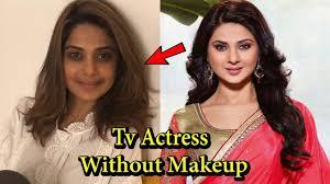top 10 indian tv actress without makeup