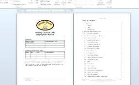 Resume Template 2019 Employee Handbook Template Free Resume