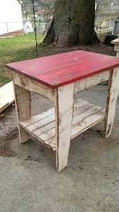 making rustic furniture. Making Primitive Furniture Reclaimed Wood End Table Nightstand Rustic Two Tone Side Shabby Chic Diy H