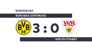 Borussia Dortmund - VfB Stuttgart: Deutliche Pleite für Stuttgart -  Bundesliga - WELT