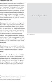Glas Und Vogelschutz Masterkurs Architektur Modul