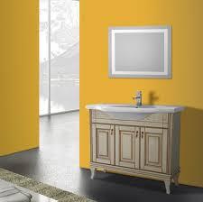 bathroom vanity nameeks bt f07 40 inch vanilla floor standing bathroom vanity set