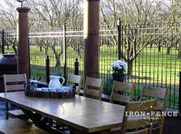 restaurant patio fence. Contemporary Restaurant Iron And Aluminum Fence Work Great For Restaurant Patio Enclosures In H