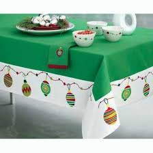 Christmas Tablecloth Designs and Ideas