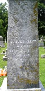 """Mary Ann """"Polly"""" Gardner Bebout (1817-1878) - Find A Grave Memorial"""