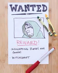 Wanted Poster Activity Education Com