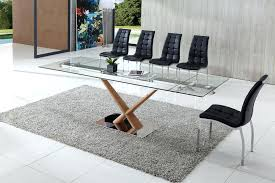 remarkable glass dining table extendable glass table extendable glass table dining tables awesome extendable glass dining