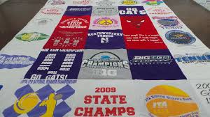 A #Northwestern T Shirt Quilt from Project Repat. Turn your t ... & A #Northwestern T Shirt Quilt from Project Repat. Turn your t-shirts into Adamdwight.com