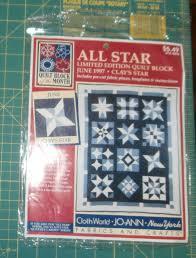 Clay's Star June 1997 All Star Quilt Block and 50 similar items &  Adamdwight.com