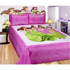 bed sheet designing printed bed sheet set rs 425 set mustard designing india id