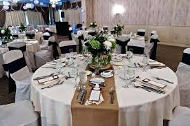 simple dining table centerpiece ideas round wedding candles
