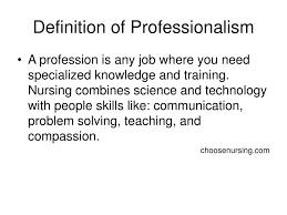 Professionalism In Nursing Ppt Professional Nursing Powerpoint Presentation Id 1240904