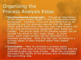 on analysis by process essay on analysis by process
