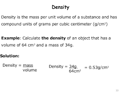 density equation chemistry. 33. 33 density equation chemistry