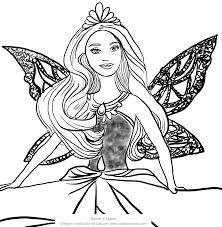 Disegni Da Colorare Di Barbie Sirena Migliori Pagine Da Colorare E