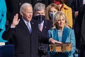 See Joe Biden & Kamala Harris's 2021 Inauguration Ceremony, in Photos