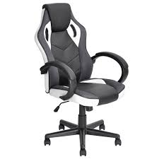 black and white office. JYSK Office Chair LINTON PU Black White And