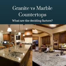 Small Picture Granite vs Marble Countertops Similarities Differences