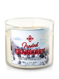 frosted cranberry candle bath and body works frosted cranberry 3 wick candle bath body works