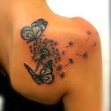 Tatuaggio Soffione Significato E Fotogallery