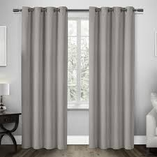 Design Decor Grommet Panels Dove Grey