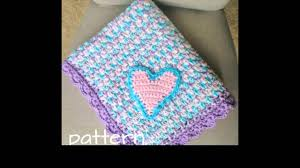 Bernat Crochet Patterns Gorgeous Crochet Baby Blanket With Bernat Yarn YouTube