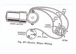 windshield wiper motor wiring diagram ford wiring diagram and 66 mustang wiper motor wiring diagram exles and