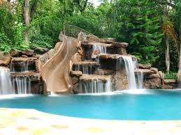 inground pools with waterfalls. Inground Pool Waterfalls Love This With If There Was A Way To Create Antique Fresh 9, Picture Size 600x450 Posted By At June 21, 2018 Pools