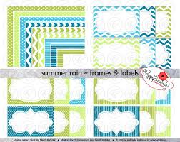 Small Picture Dino Birthday Frames Labels Clip Art Pack Card Making Digital