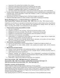Buy Side Resume