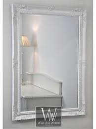Cannes White Shabby Chic Rectangle Antique Wall Mirror 40 x 28 Large |  Lounge. | Pinterest | Shabby, Walls and Room