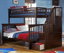 twin over full bunk bed with stairs. Alternative Views: Twin Over Full Bunk Bed With Stairs I