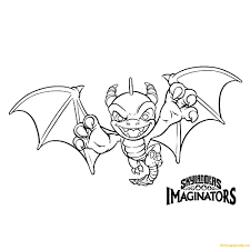 Spyro Coloring Pages Free Coloring Pages