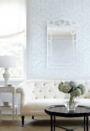 Pale Blue Living Room Thibaut Wallpaper In Australia Graphics Student Centered