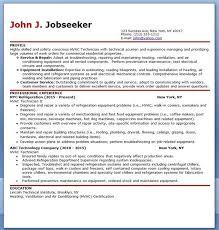 HVAC Technician Resume Sample   HVAC   Pinterest   Resume and     Resume Cover Letter