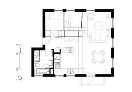 Minimalist Floor Plans Extraordinary Idea 12 Two Apartments In