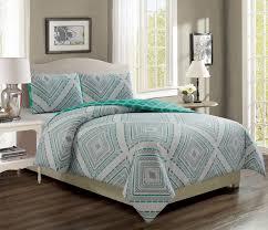 destin aqua gray reversible comforter set twin