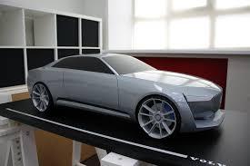 Какими видят автомобили будущего российские студенты Обзор  Георгий Саргсян большой поклонник шведской марки volvo именно поэтому темой своей дипломной работы он определил разработку дизайн проекта спортивного