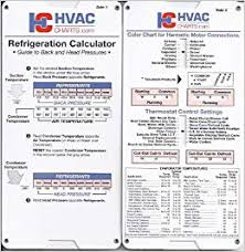 Refrigeration Calculator Hvaccharts Amazon Com Books