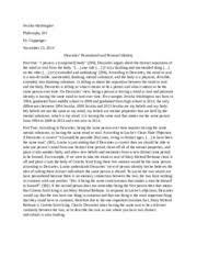 identity essay self identity essay
