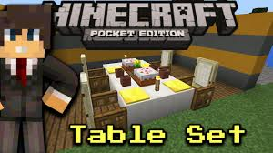 how to make a table in minecraft. Simple Minecraft How To Make A Table With Glass And PlateMinecraft Pocket Edition In To Make A Minecraft V