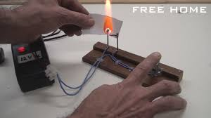 electric forge. homemade electric fire lighter. burner easy to do. - free home youtube forge i