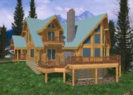 beautiful large log home plans 10 cabin design coast mountain homes 1261236