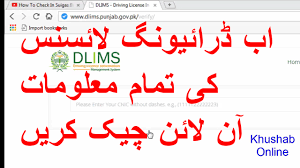 Online Tutorial In Urdu Pakistan Verify To 2017 How Driving License Hindi Youtube -